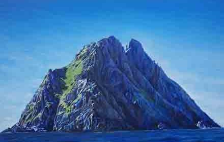 Skellig Michael. County Kerry