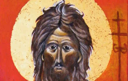Saint John the Baptist.