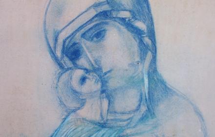 Vladimir Madonna and Child.