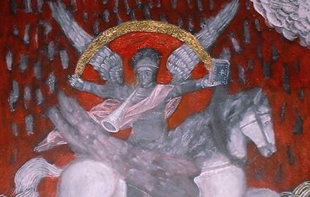 Saint Michael and the Golden Rainbow.