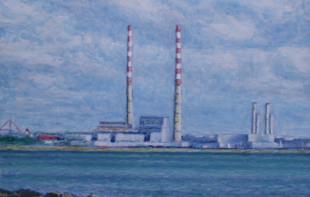Poolbeg. Dublin Port. Dublin
